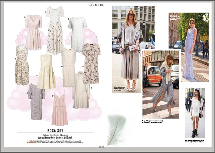 Soaked in Luxury dress in norwegian magazine Det Nye