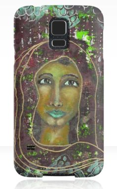 Sarah ~ Samsung Galaxy cases available here: http://www.redbubble.com/people/elizafayle/works/13490384-goddess-sarah?p=samsung-galaxy-case #goddess #spiritual #feminine #divine