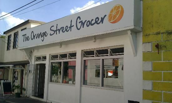 The Orange Street Grocer in Speightstown