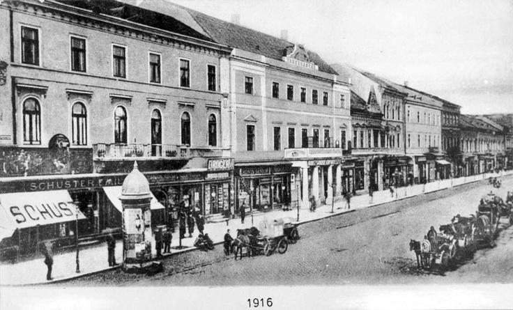 Cluj - P-ta Unirii - 1916
