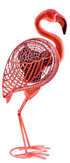 fun flamingo fan