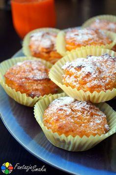 muffinki z marchwi