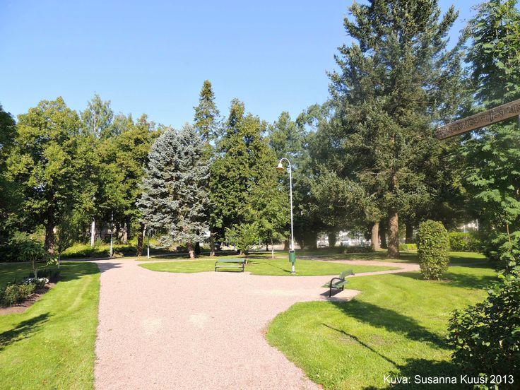 Itsenäisyydenpuisto, Puistikko, Riihimäki. Kuva: Susanna Kuusi