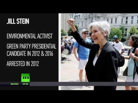 Arrest warrant issued for Green Party presidential candidate Jill Stein https://youtu.be/BMZBpC3YTwA ...but no warrant for Hillary.