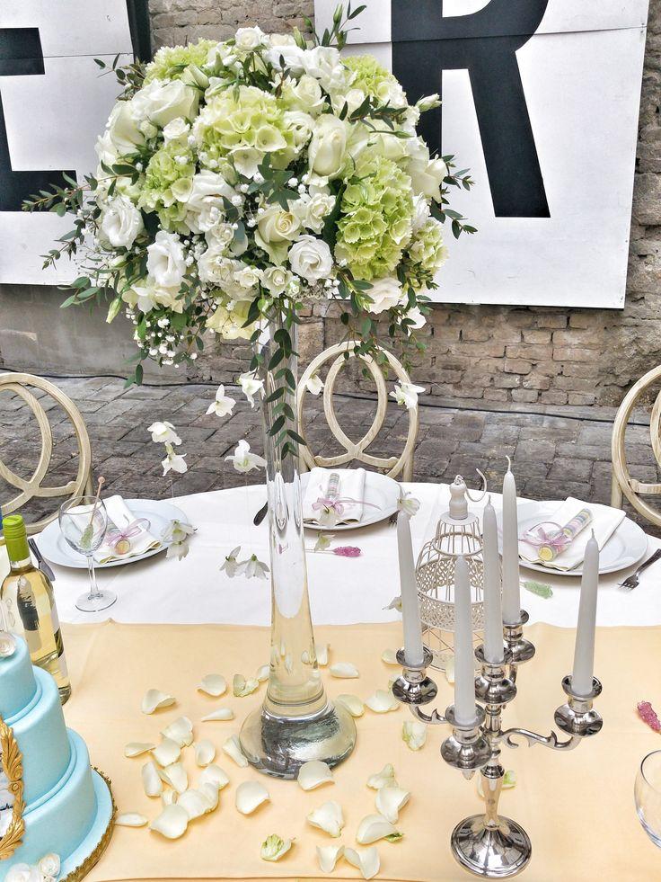 Esküvői asztaldísz