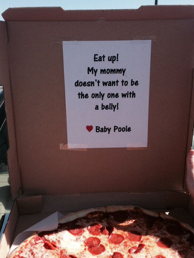 How we announced our pregnancy to my family.