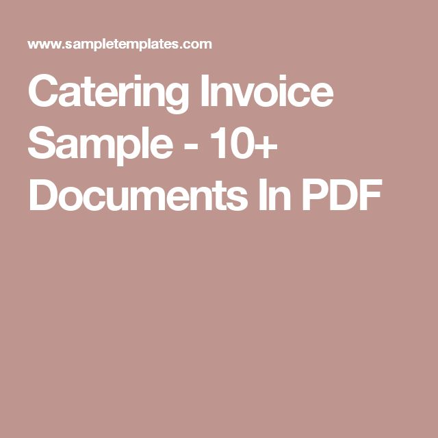 Invoice Aging Excel Best  Invoice Sample Ideas On Pinterest  Invoice Example Http  Concur Receipts Excel with Receipt Processing Pdf Catering Invoice Sample   Documents In Pdf Sample Service Invoice Template Pdf