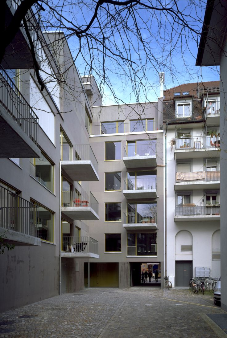 RiffRaff Apartment Building, Zurich _ Meili, Peter Architekten with Staufer & Hasler Architekten