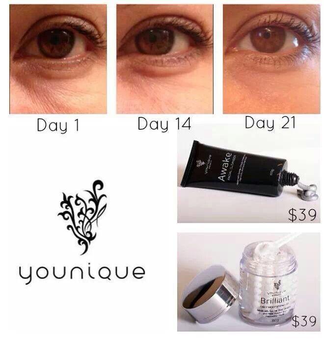 awake facial products
