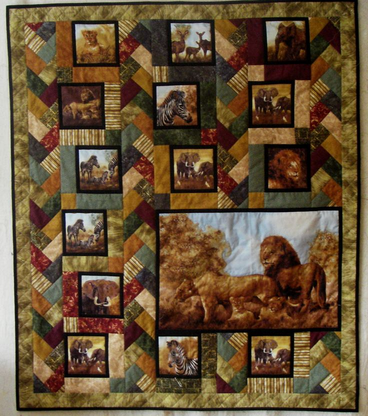 71 best Hunting Panel quilts images on Pinterest | Quilting ideas ... : hunting quilts - Adamdwight.com