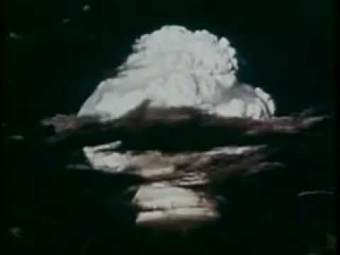 Hydrogen Bomb test at Enewetak Atoll November 1, 1952 - YouTube