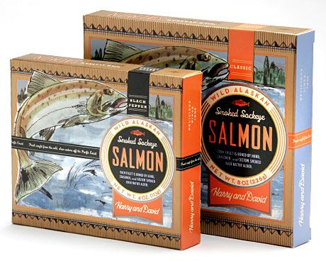 Harry & David: Salmon - Packaging - Portfolio - Morrow ...
