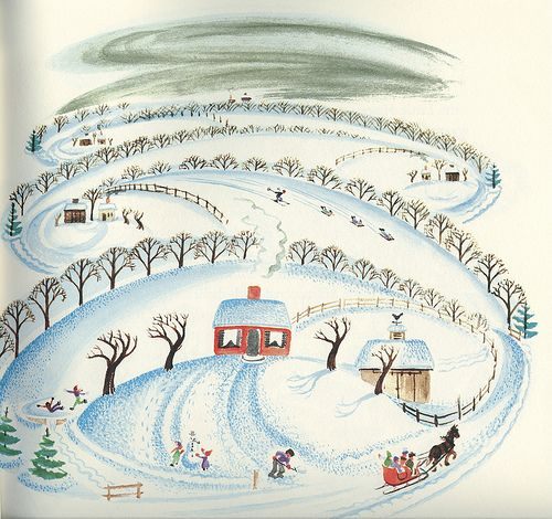 'The Little House' had such a huge influence on me as a child. I sat for hours looking at all the details on each page. It was published in 1942.