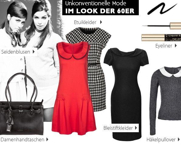 Unkonventionelle Mode im Look der 60er