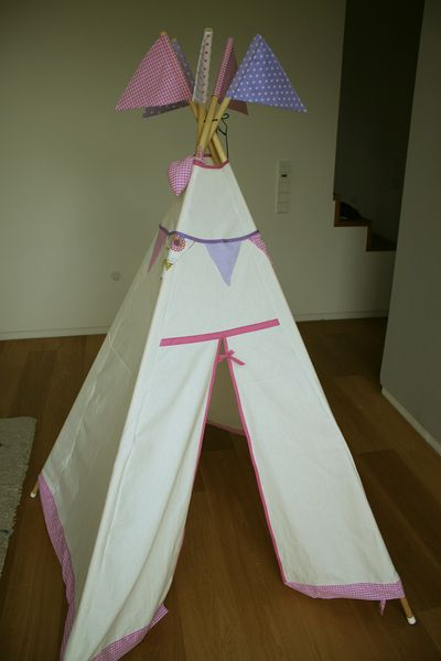 25 best ideas about indianerzelt kind on pinterest indianer tipi tipi kinderzelt and kinder - Dawanda tipi zelt ...