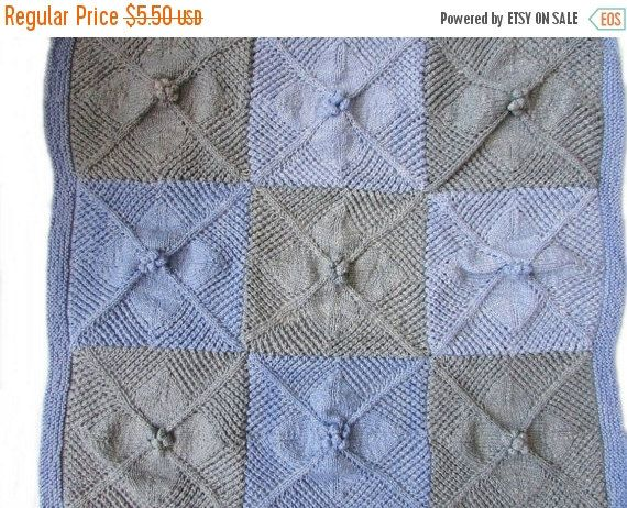 ON SALE Mbali Summer Baby Blanket Knitting by BiggerthanlifeKnits