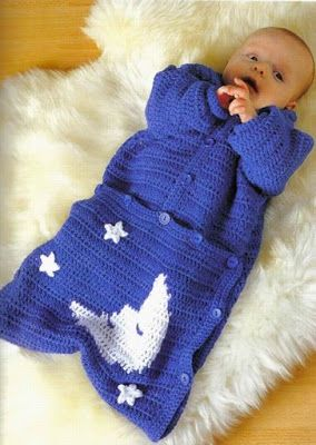 saco crochet bebe - Buscar con Google