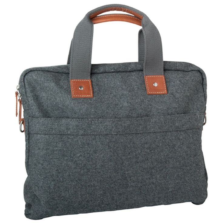 The simple but stylish design of this Laptop Bag, combined with a beautiful wool blend and stunning tan leather details, combine to make this bag a timeless investment. The perfect Laptop Bag for work, study or home, and ideal for both him and her.