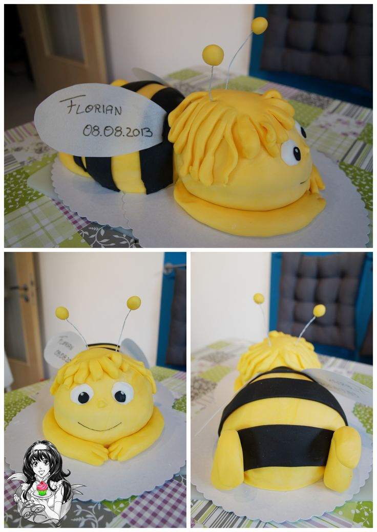 Biene Maja Torte Maya the Bee Cake  https://www.facebook.com/ChristinasCakeFactory/