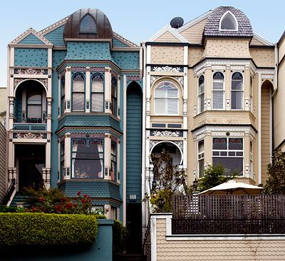 Albert Wilford Houses / 2121 And 2127 Vallejo Street Between Buchanan And  Webster / Pacific Heights