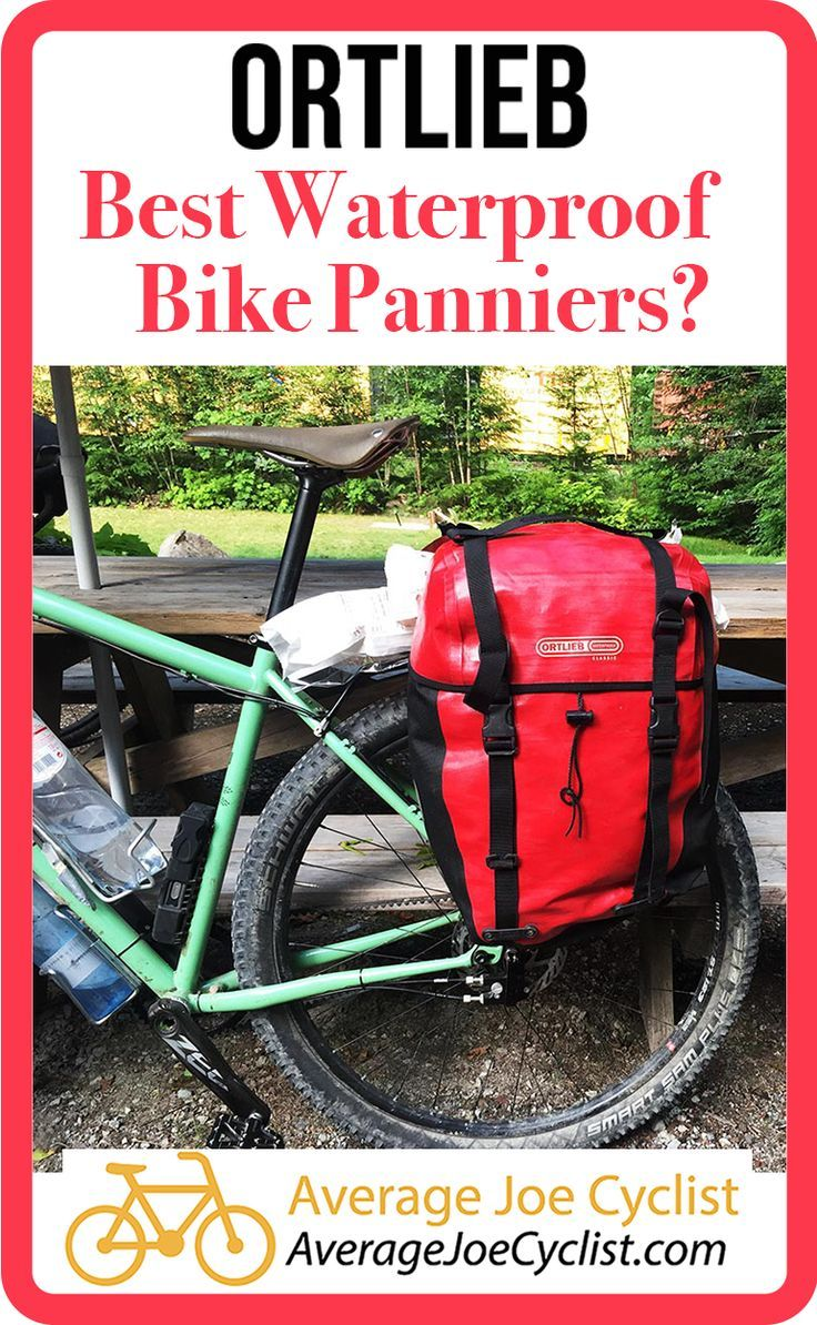Best Waterproof Bike Panniers For Touring And Commuting Ortlieb