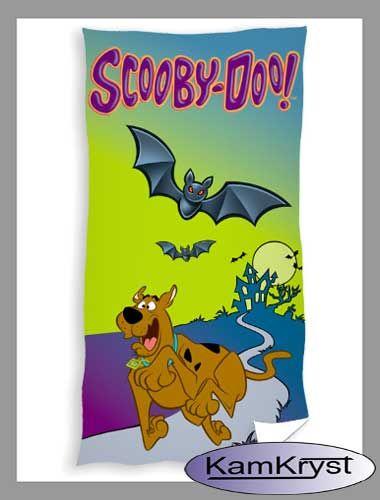 Nowy wzór ręcznika ze Scooby Doo - 70x140 cm - 100% bawełna