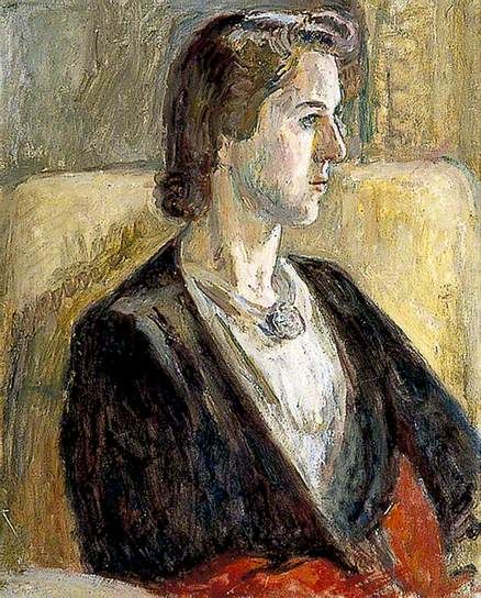 ✽ vanessa bell - 'anne olivier bell' - painted shortly after her marriage to quentin bell, the artist's son - 1952