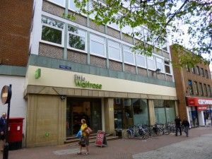 Little Waitrose in Pride Hill, Shrewsbury (10 Jun 2013). Photograph by Graham Soult
