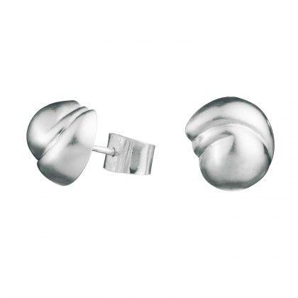 Her Story Earrings silver Design Poul Havgaard  / Lapponia Jewelry / Handmade in Helsinki