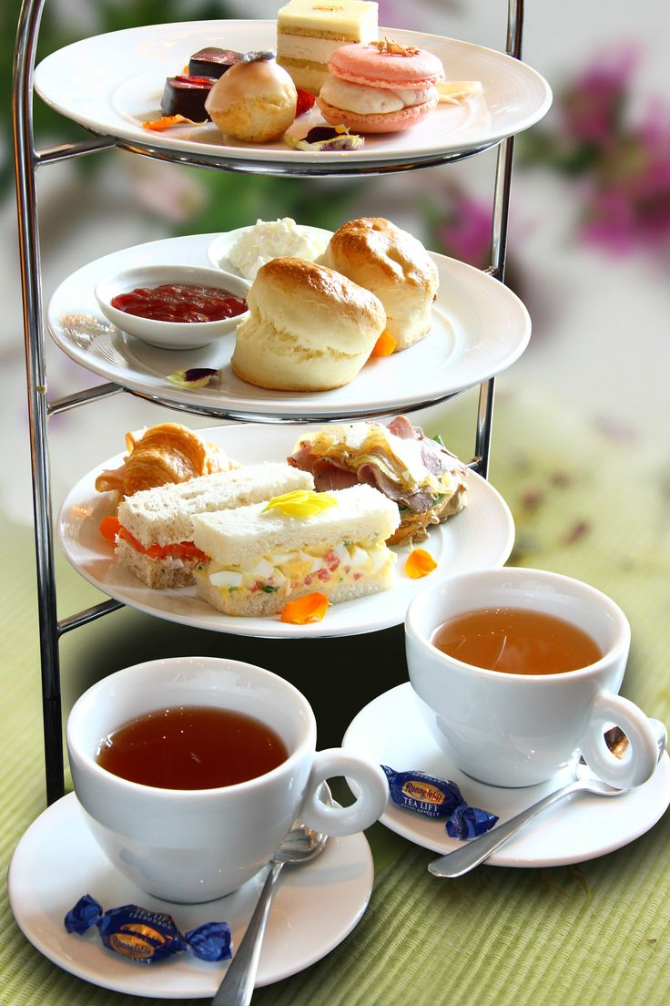 I love afternoon tea.  If you've only had American scones and not British scones, then you are missing out.