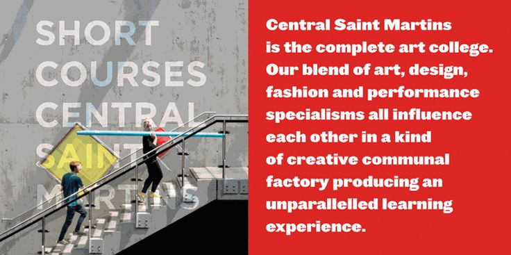 Short Courses - Central Saint Martins - University of the Arts London