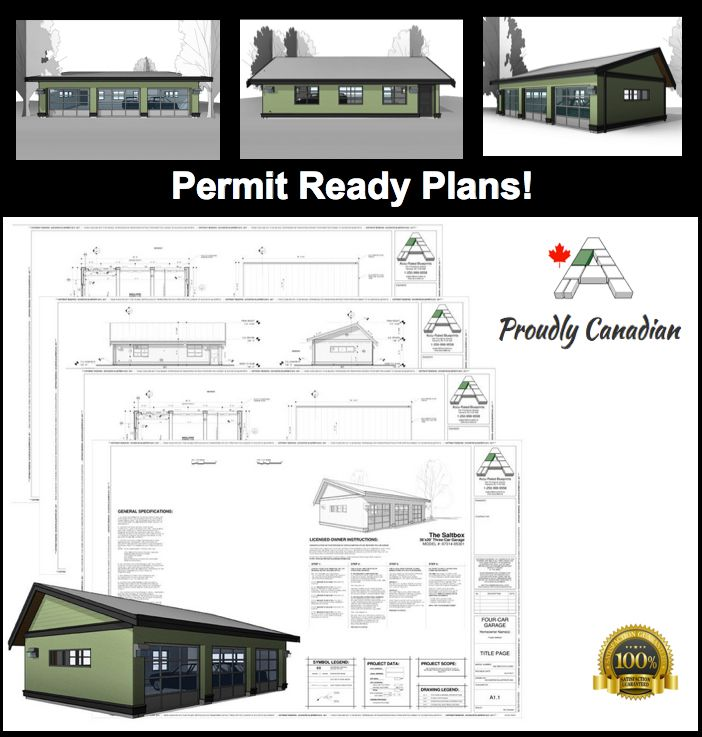 11 best permit ready blueprints house plans images on pinterest the saltbox 3 car detached garage planblueprint set is available in print or malvernweather Gallery