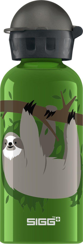 Sigg Kinder Trinkflasche CUIPO Stece The Sloth, Grün, 0.4 Liter, 8409.10