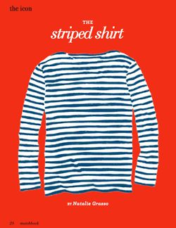 Heavy rotation for me right now. I have a red striped one from  StyleMint.com