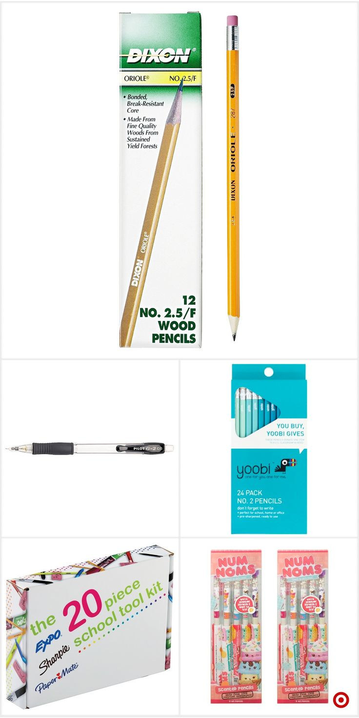 Shop Target for pencils you will love at great low prices. Free shipping on orders of $35+ or free same-day pick-up in store.