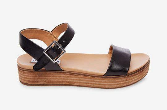 90aa0504f5 Steve Madden Aida - Black Leather 5.5 | Shoes | Shoes, Steve madden ...