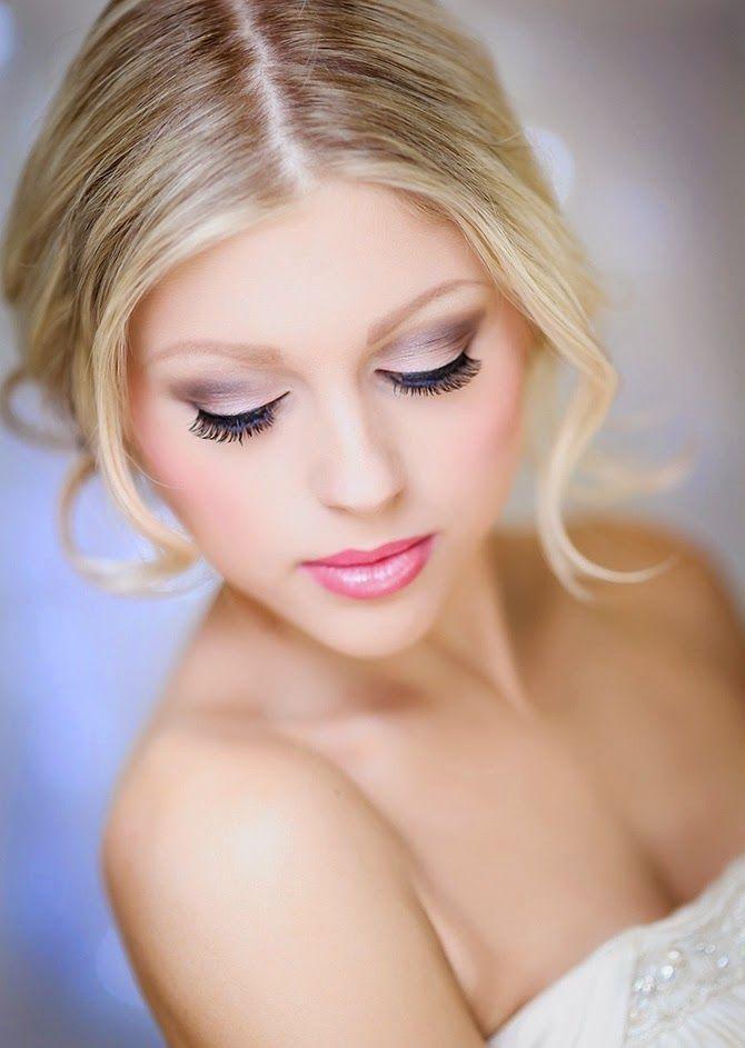 Top Les 25 meilleures idées de la catégorie Maquillage mariée blonde  NJ17