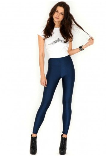 Missguided - Kerstin Disco Pants With Pockets In Navy