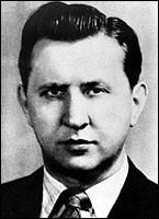 Aleksandr Semyonovich Feklisov (March 9, 1914 – October 26, 2007) was a Soviet spy, the NKGB Case Officer who received information from Julius Rosenberg and Klaus Fuchs, among others.
