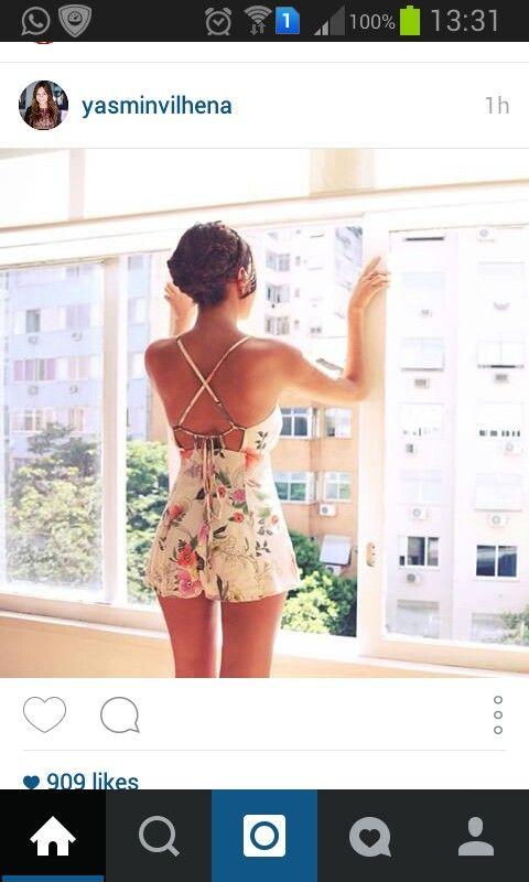 Via instagram Jumpsuit Hairstyle Summer