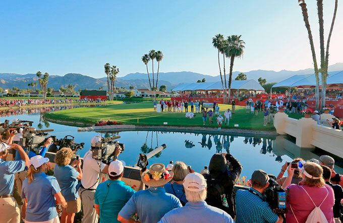 Last one in's a rotten egg! Lexi Thompson, 19, took the traditional winner's leap (along with family members and friends) into Poppy's pond in celebration of her three-shot victory in the Kraft Nabisco Championship at Mission Hills Country Club in Rancho Mirage, Calif. It was Thompson's first career major title.
