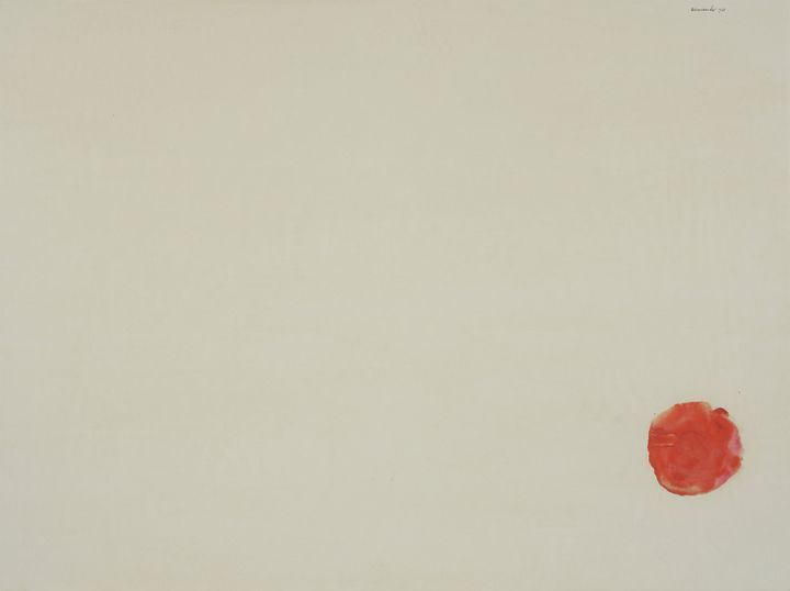 Armando, Zonder titel, gouache, Centraal Museum, 1970