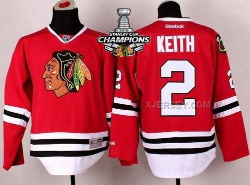 http://www.xjersey.com/blackhawks-2-keith-red-2015-stanley-cup-champions-jersey.html BLACKHAWKS 2 KEITH RED 2015 STANLEY CUP CHAMPIONS JERSEY Only 47.31€ , Free Shipping!