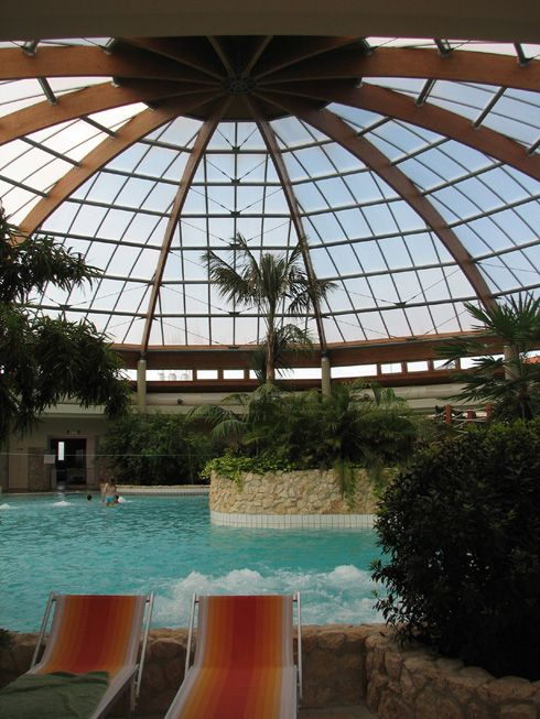 Thermal bath and spa in Szentgotthárd, Hungary