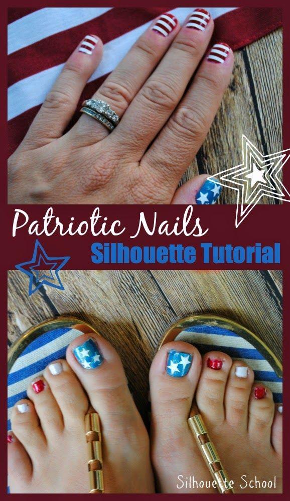 16 best Cricut nail art images on Pinterest | Nail, Christmas nails ...
