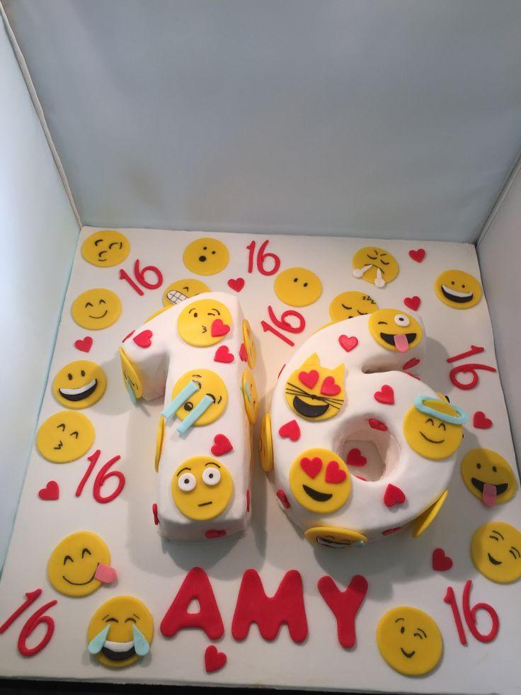 Emoji cake by Bingo taart en zo