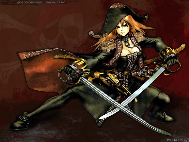 Anime Pirate Girl | Anime Pirate Graphics Code | Anime Pirate Comments & Pictures