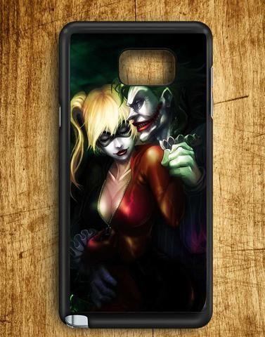 Joker And Harley Quinn Samsung Galaxy Note Edge Case