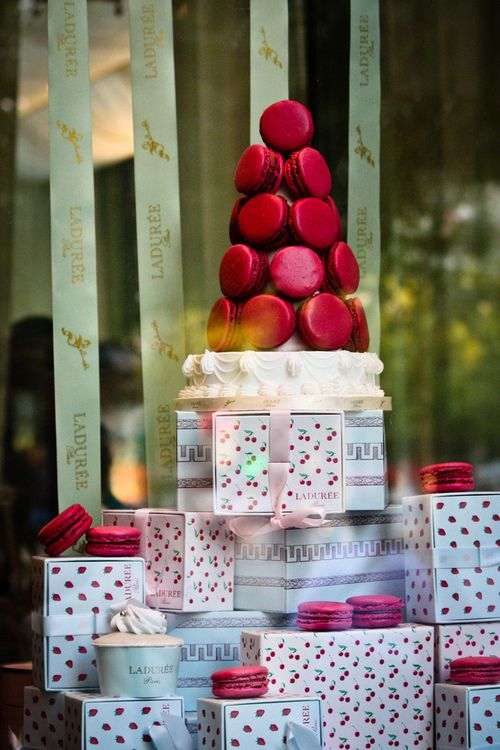 Christmas at Laduree, Paris