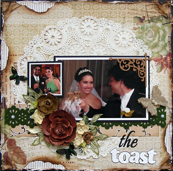 """the toast {July 2013 """"Hope Chest"""" Kit} - Scrapbook.com"""